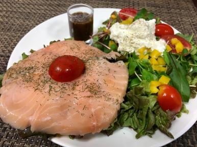 Salmon Smörrebröd